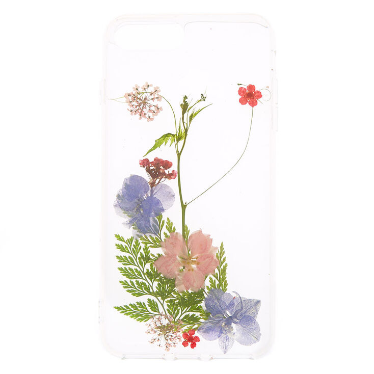 meet 6e6e1 ea46b Pressed Flower Phone Case - Fits iPhone 6/7/8 Plus