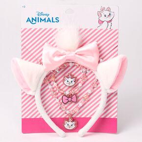 Parure de bijoux avec oreilles de Marie animaux ©Disney – Lot de 4,