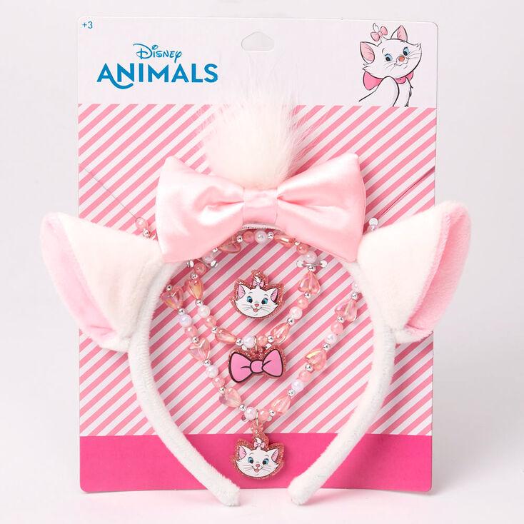 ©Disney Animals Marie Ears & Jewellery Set - 4 Pack,