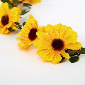 Sunflower Vine Headwrap,