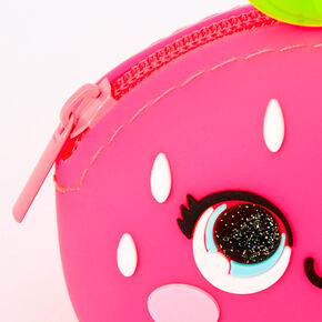 Strawberry Jelly Coin Purse - Pink,