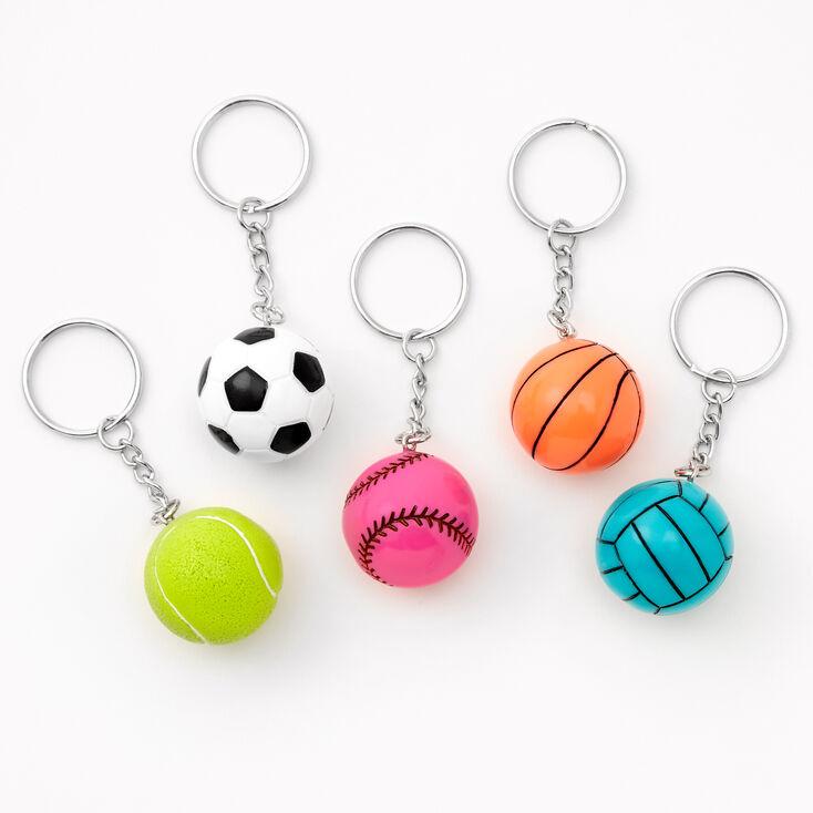 Porte-clés best friends Sports - Lot de 5,