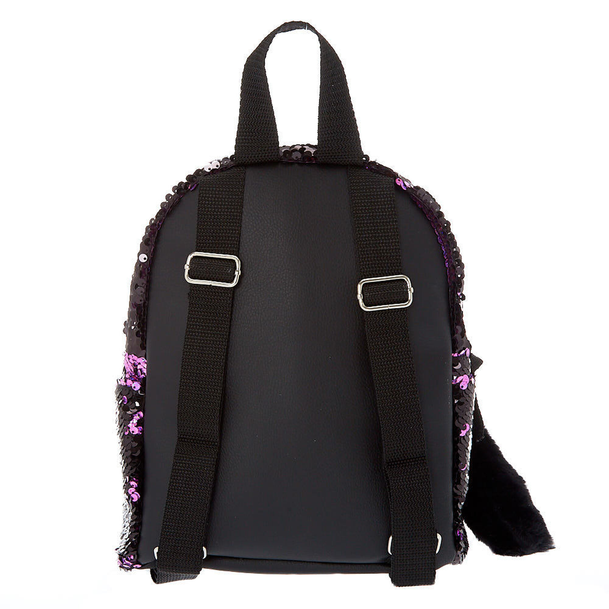 4aa69f6f2b93e8 Reversible Sequin Cat Mini Backpack | Claire's