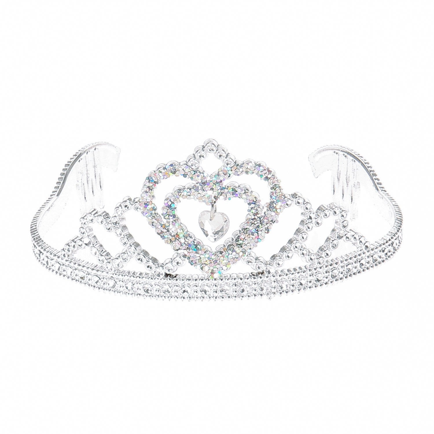 LOL Surprise doll accessories white glitter tiara
