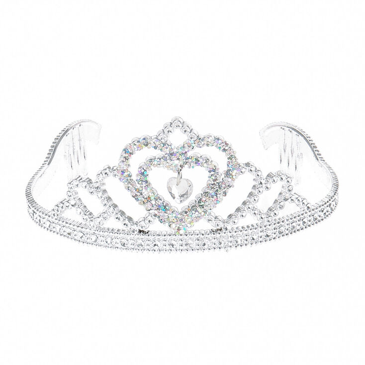 Claire's Club Princess Tiara - Silver,