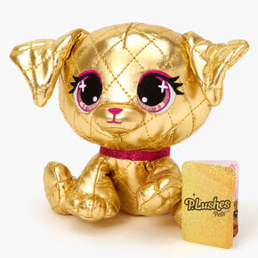 P.Lushes Pets™ Limited Edition Goldie La'Pooch Plush Toy - Gold,