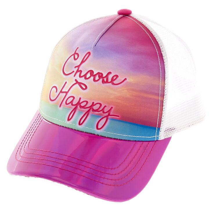 Casquette de baseball «Choose Happy»,