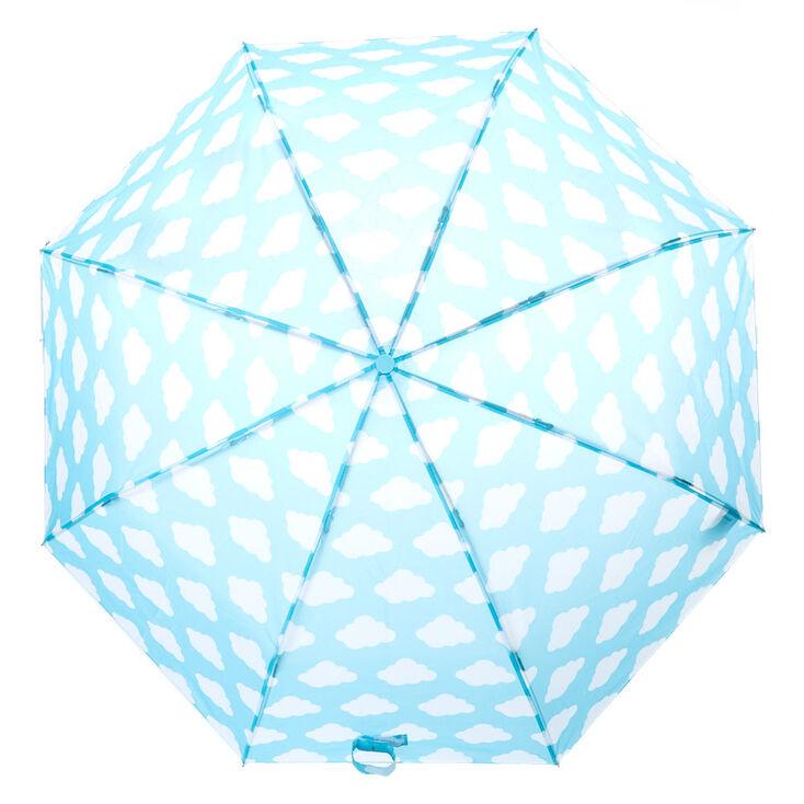 Clouds Umbrella - Mint,