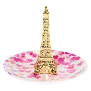Plateau à bijoux Paris Love - Blanc,