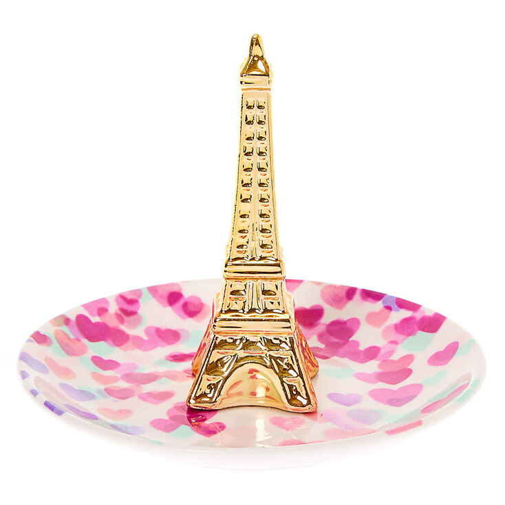 Paris Love Jewelry Holder Tray - White,