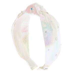 JoJo Siwa™ Knotted Headband - White,