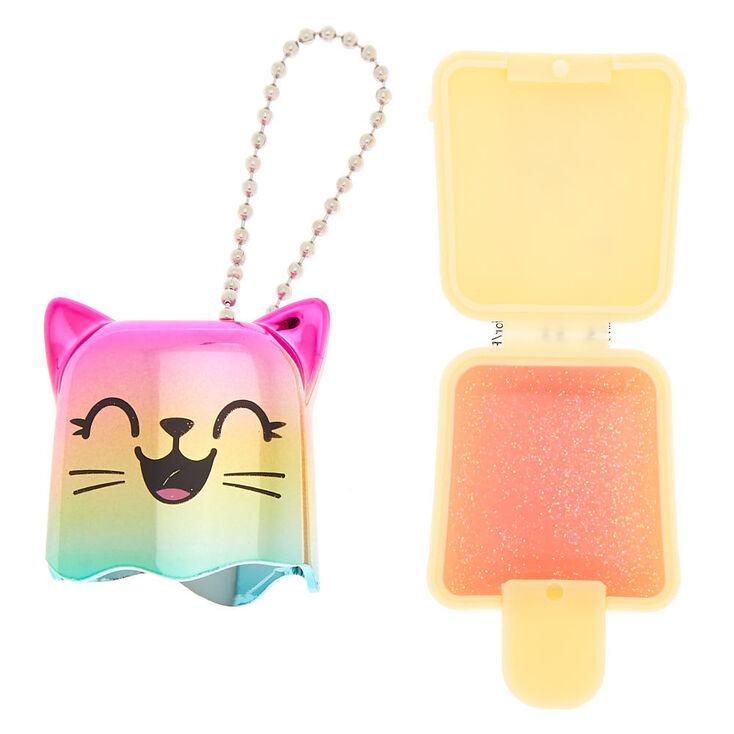 Pucker Pops Electro Cat Lip Gloss - Pink Guava,