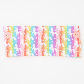 Rainbow Unicorn Headwrap,