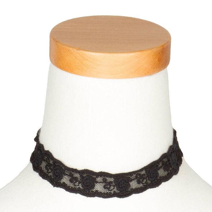 Black Lace Choker,