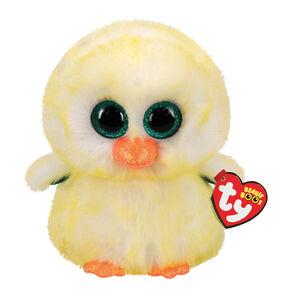 Ty Beanie Boo Medium Lemon Drop the Chick Plush Toy,