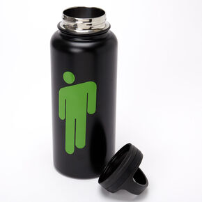 Billie Eilish Water Bottle – Black,