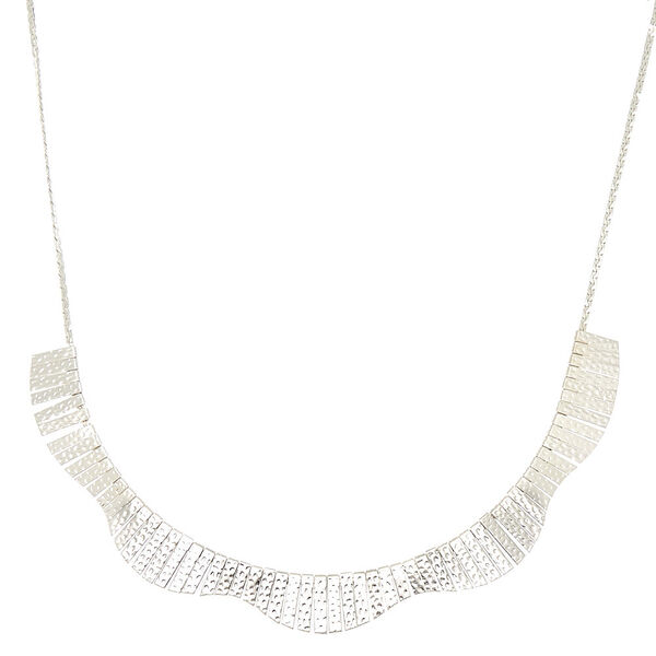 Claire's - pebbled mini bib statement necklace - 1