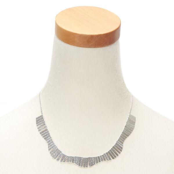 Claire's - pebbled mini bib statement necklace - 2