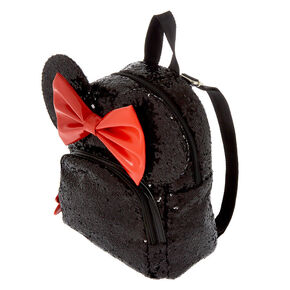 cb72b88a10bbd8 Disney's® Minnie Mouse Sequin Midi Backpack - Black