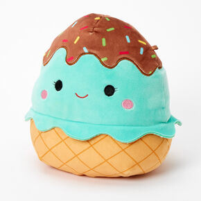 "Squishmallows™ 8"" Mint Ice Cream Plush Toy,"
