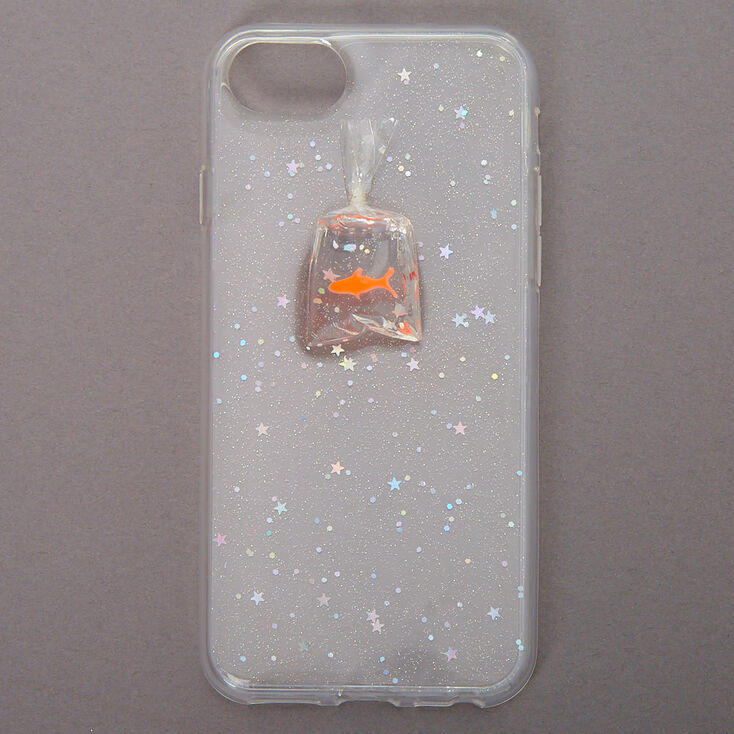 Goldfish Clear Protective Phone Case - Fits iPhone 6/7/8/SE,