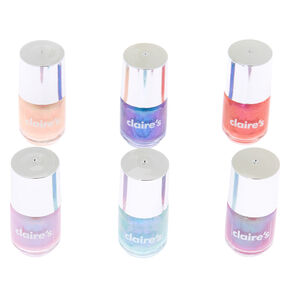 Shimmer Mini Nail Polish Set - 6 Pack,