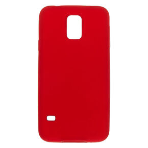 Matte Logo Cut Out Phone Case - Fits Samsung Galaxy S5,