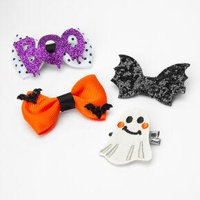 Barrettes Halloween aux designs variés - Lot de 4,