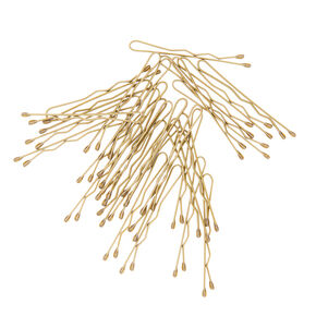 Mini Blonde Bobby Pins - 30 Pack,