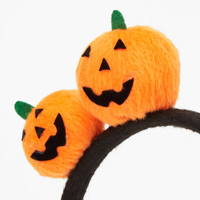 Plush Pumpkin Headband - Orange,