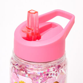 ©Disney Princess Glitter Water Bottle – Pink,