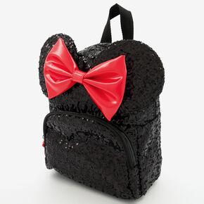 Sac à dos en sequins Minnie Mouse ©Disney - Noir,