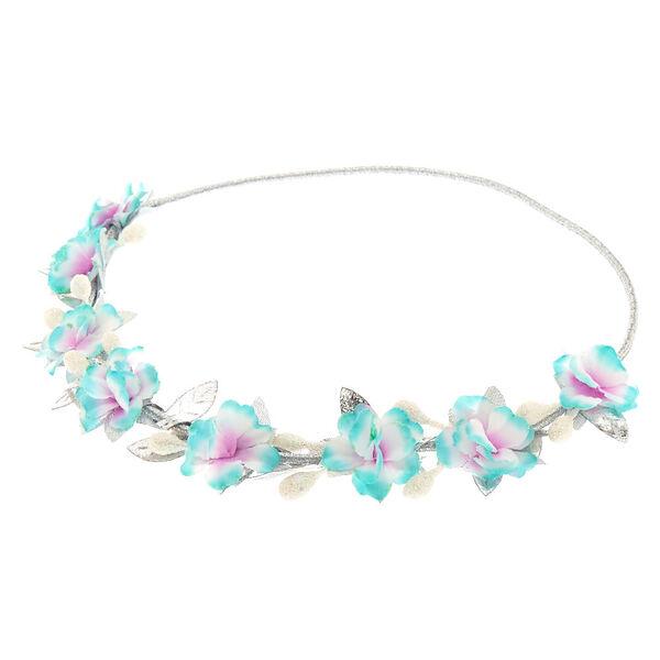 Claire's - flower crown headwrap - 1
