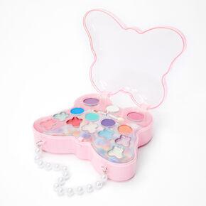 Palette compacte de maquillage sac à main papillon Claire'sClub,