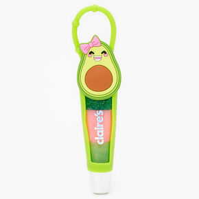 Smiling Avocado Silicone Lip Gloss Tube - Apple,