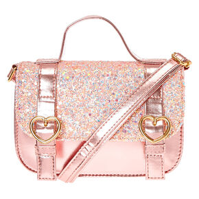 Claire s Club Pink Crossbody Bag - Pink 41cd19293bea