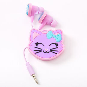 Cat Hearts Earbuds & Winder Set,