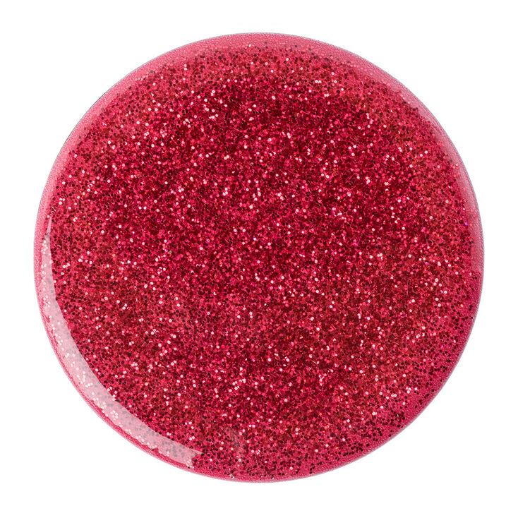 PopSockets PopGrip - Red Glitter,