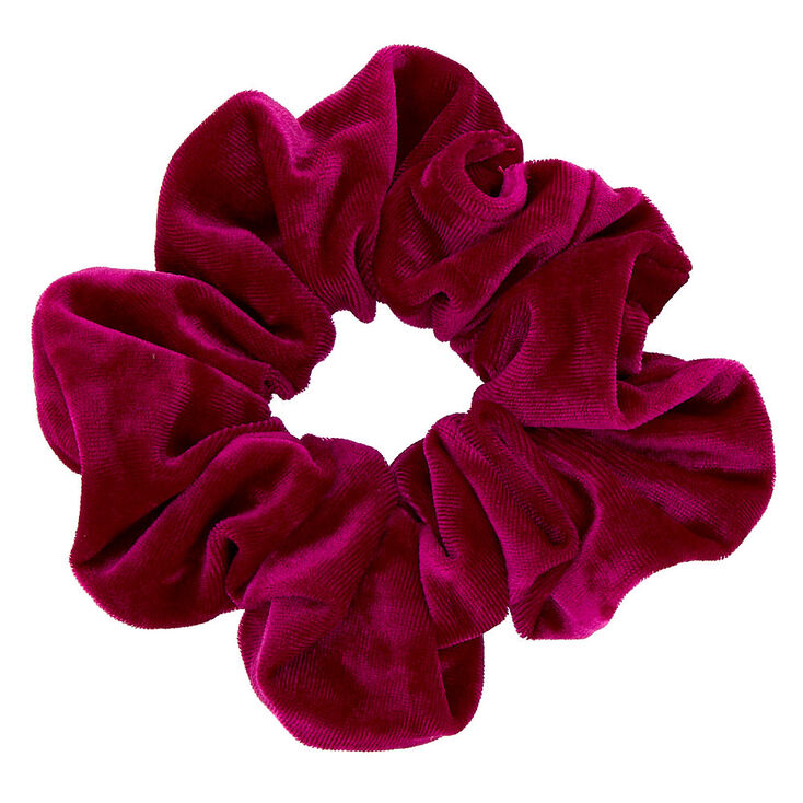 Medium Hair Scrunchie - Fuchsia,