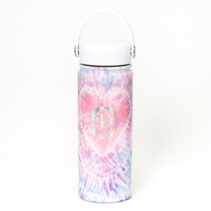 Sky Brown™ Tie Dye Water Bottle - Purple,