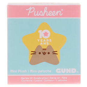 Peluche surprise commémorative série 12 Pusheen®,