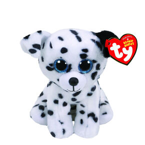 Ty Beanie Boo Small Catcher the Dalmation Plush Toy,