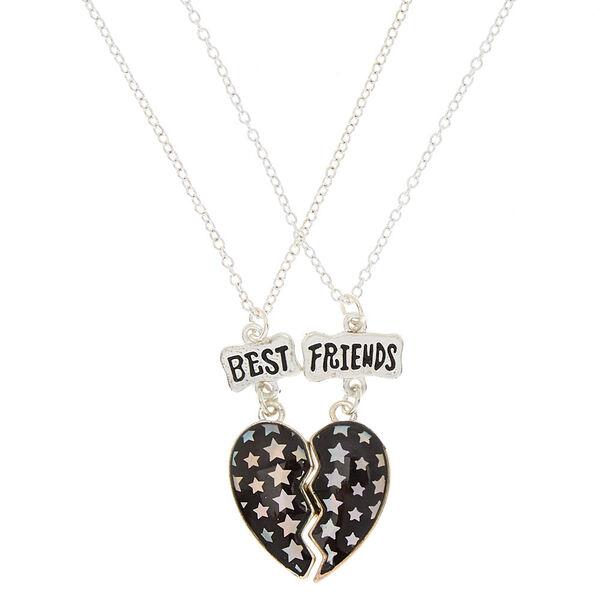 Claire's - best friends star heart pendant necklaces - 1