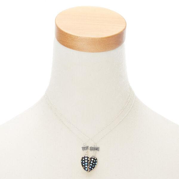 Claire's - best friends star heart pendant necklaces - 2