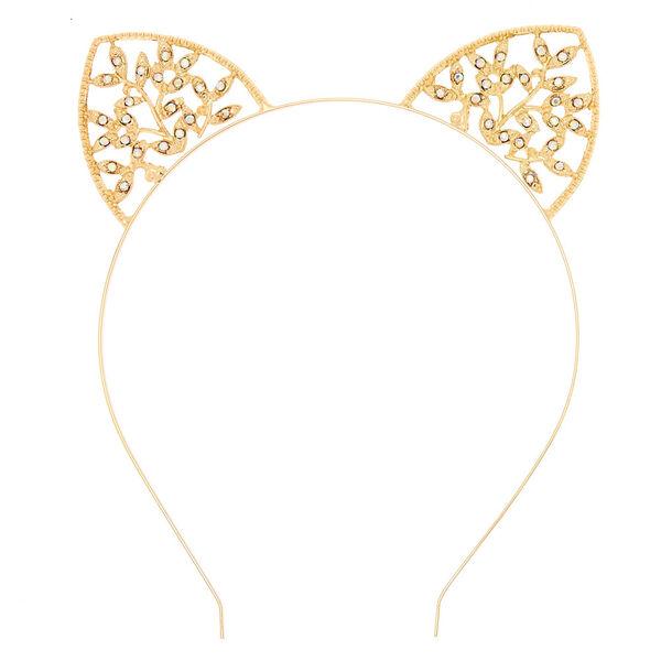 Claire's - ivy cat ears headband - 2