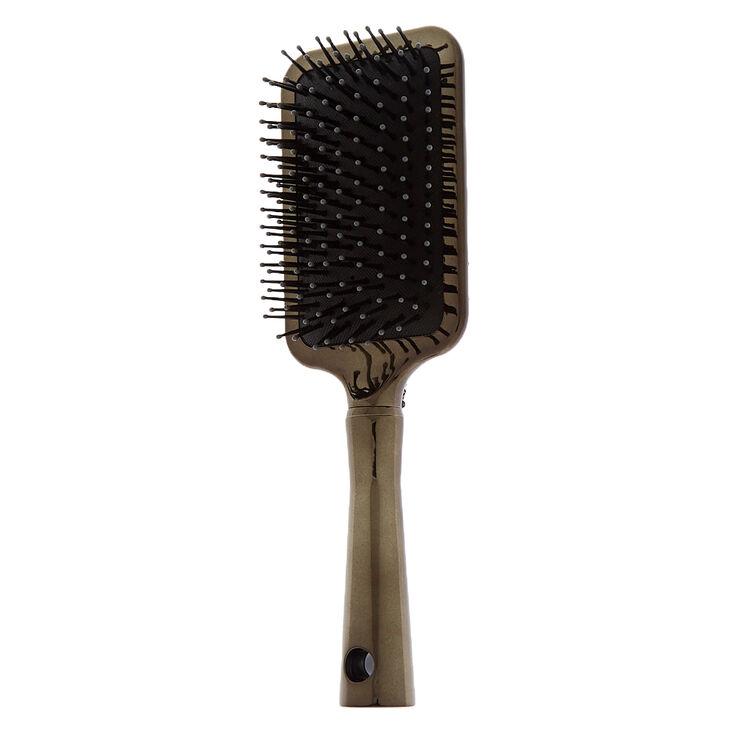 Bling Chrome Paddle Hair Brush,