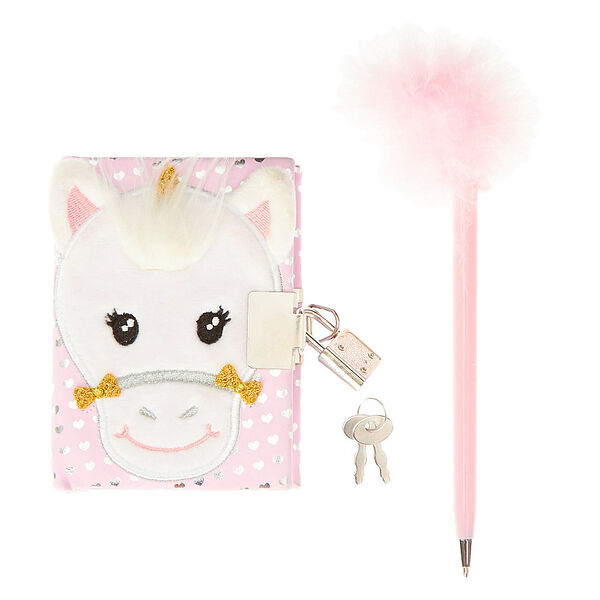 Claire's - club ariella the unicorn notebook - 1