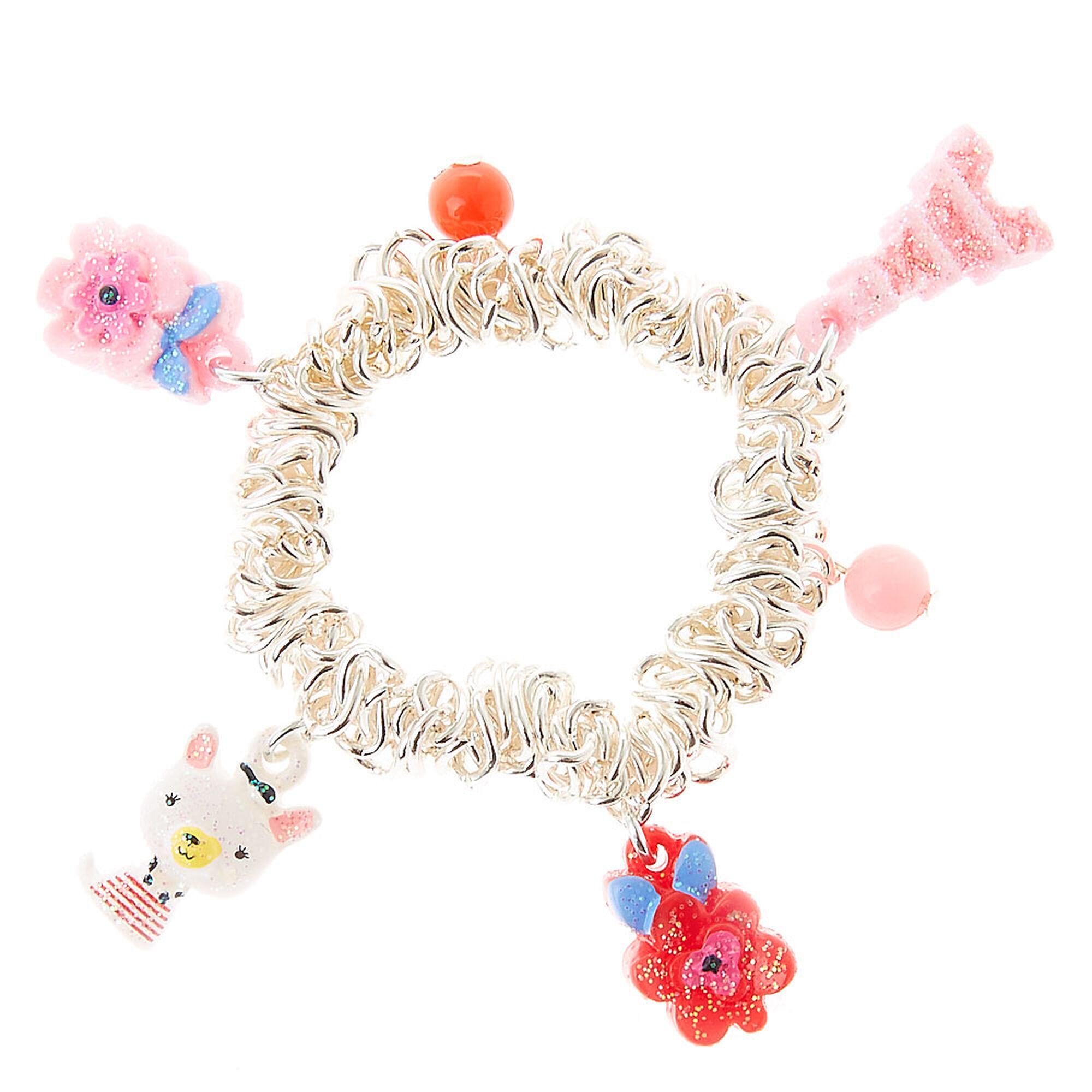 Kids Tr Egrave S Cute French Bulldog Charm Bracelet