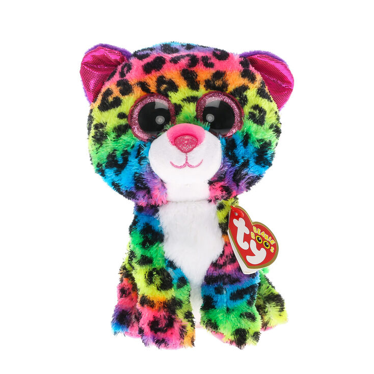 Ty Beanie Boo Small Dotty The Leopard Plush Toy Claire S Us
