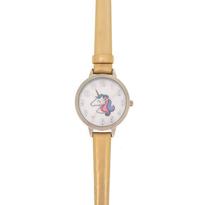 Miss Glitter the Unicorn Holographic Watch,